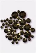 Strass HOTFIX 2028 3 mm / 5 mm / 7 mm crystal dorado M HF x42