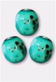 Facette 4 mm blue turquoise x50