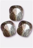 Facette 4 mm crystal copper x50
