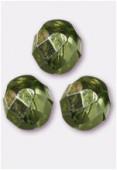 Facette 8 mm avocado metallic ice x12