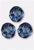 Facette 8 mm genuine stone blue x12