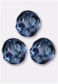 Facette 10 mm genuine stone blue x6