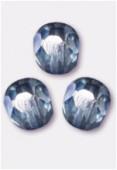 Facette 3 mm lumi blue x50