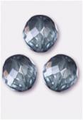 Facette 12 mm lumi blue x2