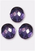Facette 14 mm lumi amethyst x2