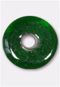 Perle en verre palet VP1 émeraude x1