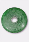 Perle en verre palet VP2 émeraude mat x1