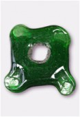 Perle en verre palet VP5 émeraude x1