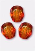 Facette 4 mm fire opal x50