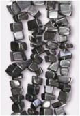 Chips black onyx x 90cm