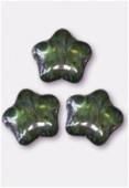 Etoile 8 mm lumi green x12