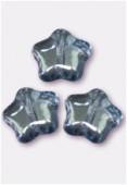Etoile 8 mm lumi blue x12