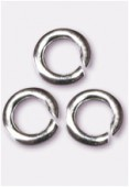 Silver filled anneau 4 mm x12