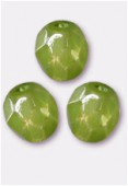 Facette 3 mm milky olivine x50