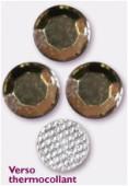 Strass en verre HOTFIX 5 mm black diamond x144