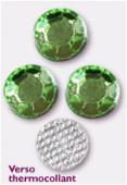 Strass en verre HOTFIX 5 mm peridot x144