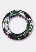 Cosmic ring 4139 14 mm crystal vitrail light x1