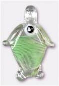 Perle en verre pendentif VP43 x1