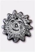 Soleil en terre cuite T78 argent x1