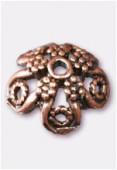 Coupelle en métal 17 mm cuivre x2