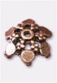 Coupelle en métal 12 mm cuivre x4
