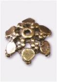 Coupelle en métal 12 mm bronze x4