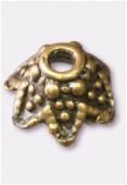 Coupelle en métal 10 mm bronze x4
