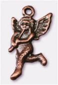 Breloque en métal ange 12x23 mm cuivre x2