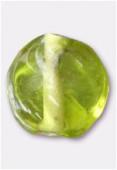 Perle en verre palet VF16 olivine x12