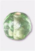 Perle en verre ronde VH32 vert clair x12
