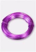 Fil en aluminium 1 mm violet x12m