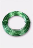 Fil en aluminium 1 mm vert x12m