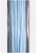 Fil cablé bleu clair x10m