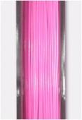 Fil cablé rose clair x10m