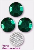 Strass en verre HOTFIX 5 mm emerald x144