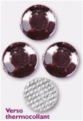 Strass en verre HOTFIX 5 mm light amethyst x144