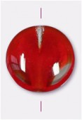 Palet rond 10 mm crystal / ruby x4
