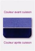 Verre transparent plat violet 7,62x5,08cm x4