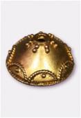 Coupelle en métal 20 mm or x1