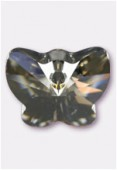 Pendentif papillon 6754 18 mm crystal golden shadow x1