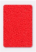 Rocaille 2 mm bright red opaque x20g