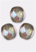 Facette 3 mm black diamond AB x50