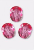Facette 3 mm rose x50