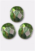 Facette 6 mm peridot AB x24