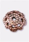 Coupelle en métal 5 mm cuivre x12