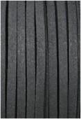 Suédine noire x1 m
