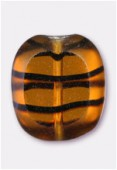 Palet coussin 14x12 mm tortoise shell x4