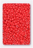 Rocaille 4 mm blood red opaque x20g