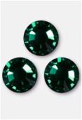 Strass 2058 SS34 7 mm emerald F x12