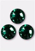 Strass 2058 SS16 4 mm emerald F x50